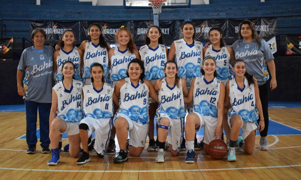 Las chicas del U15 se preparan para el Provincial