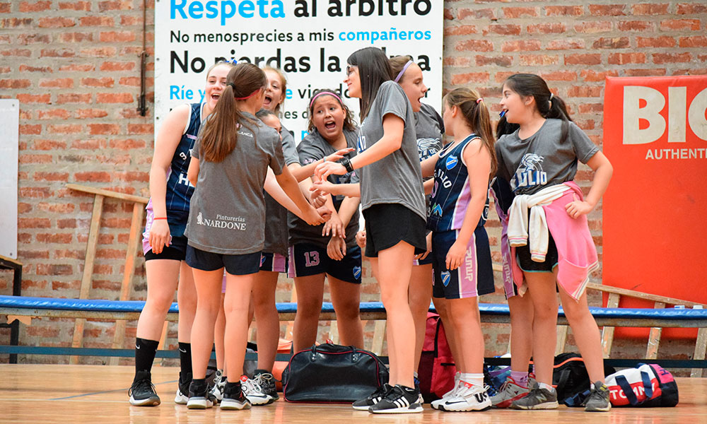 9 de Julio - mini basquet