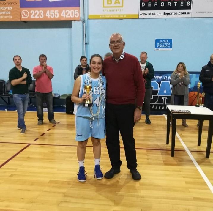 Ailín Larrosa MVP del Provincial U-19 para Bahía