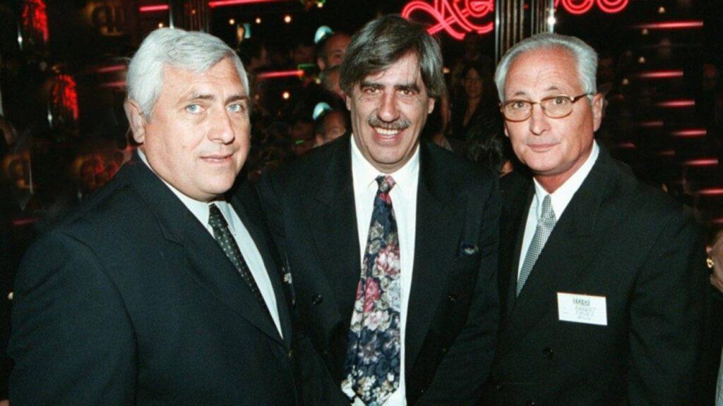 Alberto Cabrera junto a Poli y Lito