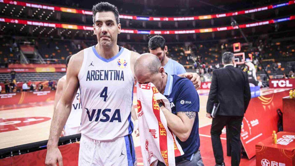 Luis Scola y Sergio Hernández