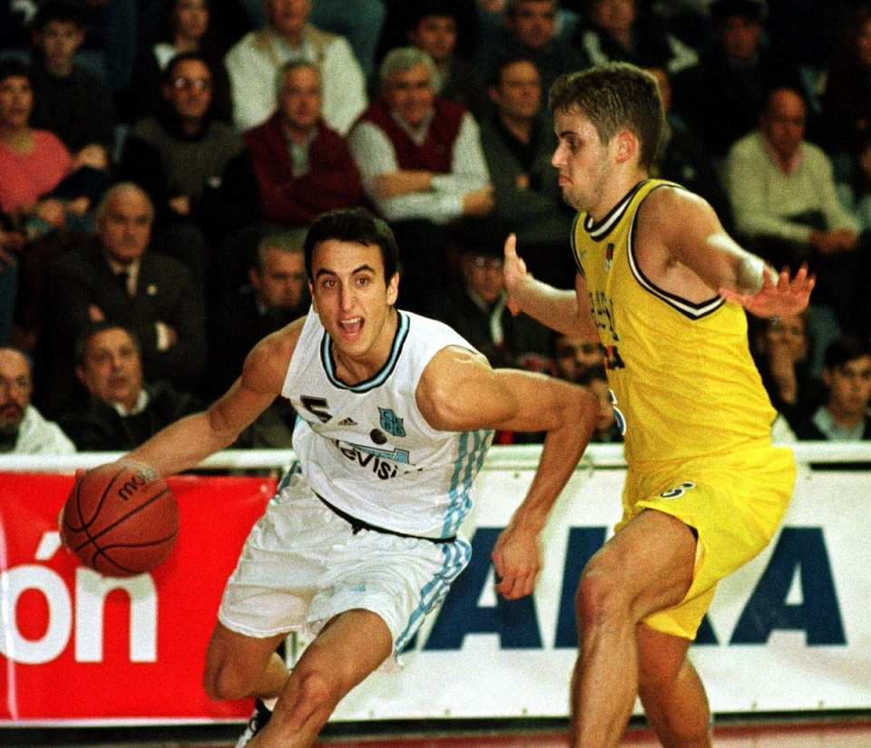 Sudamericano 1999 Manu Ginóbili
