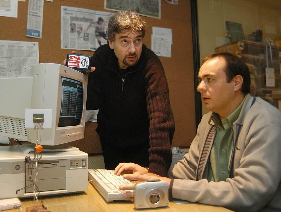 Juan Carlos Meschini y Fernando Rodríguez