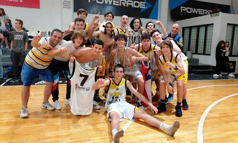 Olimpo U17 Bis Campeón