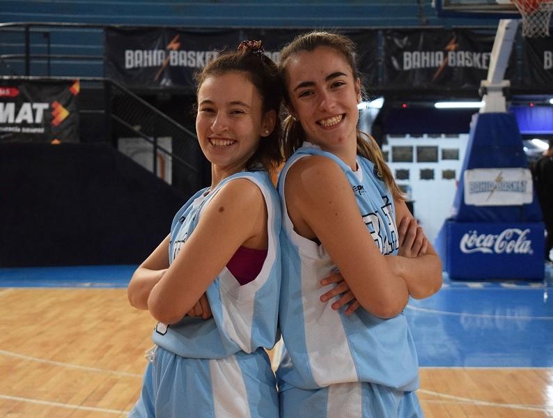 Paulina Lazar y Emilia Fernández Provincial femenino 2019