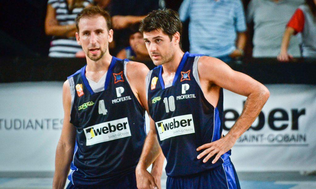 Pepe y Espil en Bahía Basket