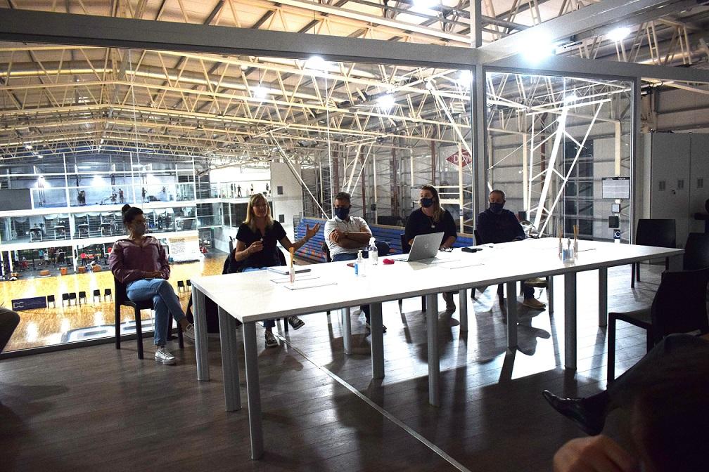 Dow Center Presentación Básquet Femenino
