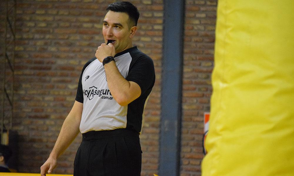 Sebastián Giannino - arbitraje bahiense