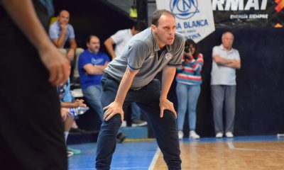 Sebastian Aleksoski, entrenador de la selección de Bahía en el Zonal de mayores