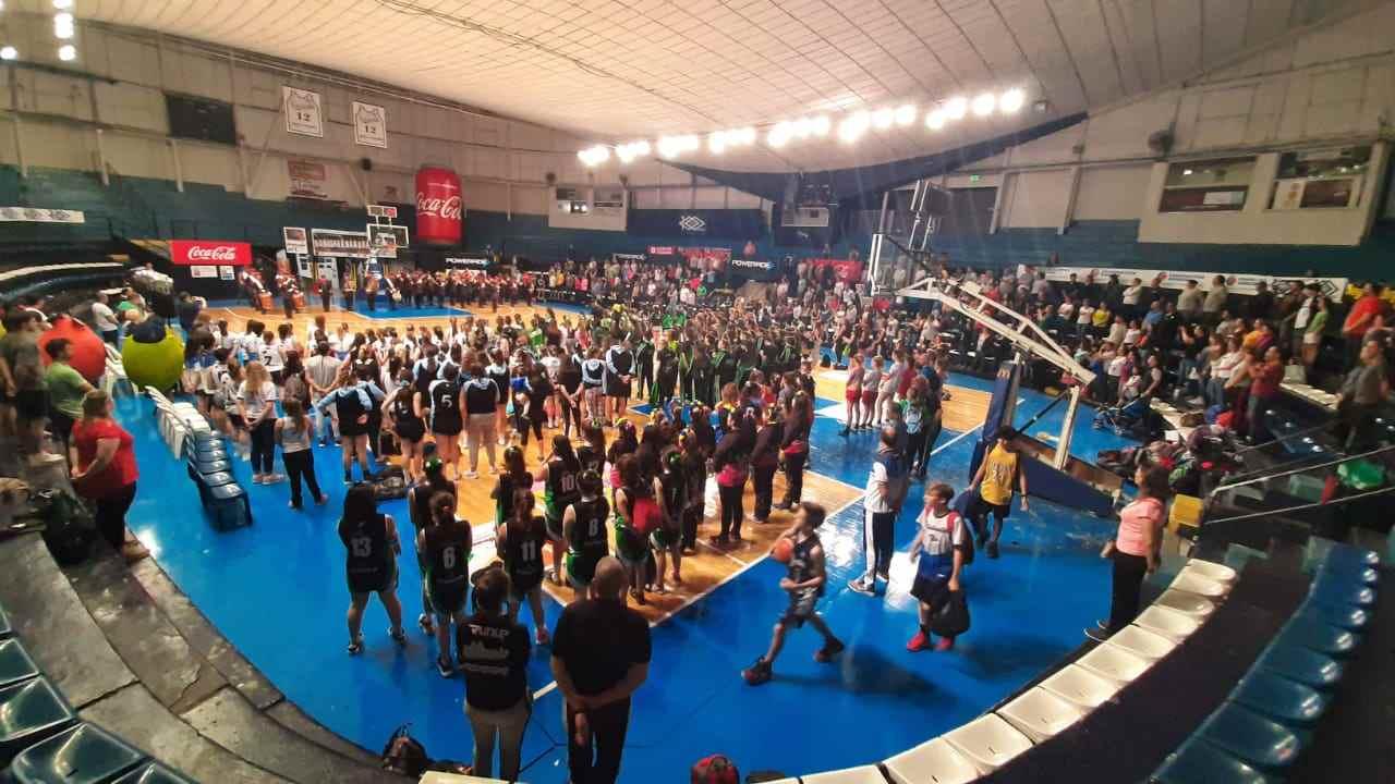 Tercer encuentro de básquet formativo en Estudiantes