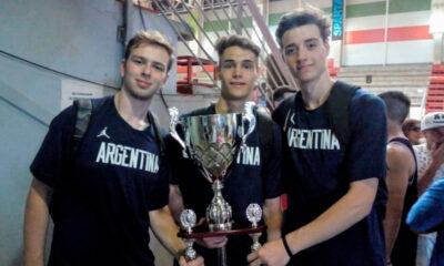 Ott, Azpilicueta y Rossi - Mundial U19