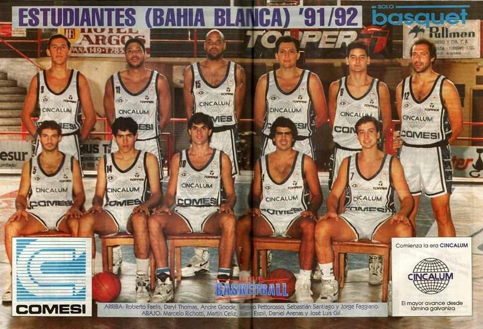 Estudiantes LNB 91/92