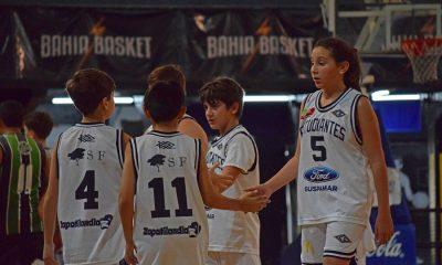 Mini básquet en Bahía Blanca